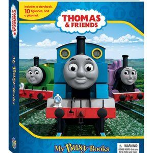 🍄2/$30🍄 Thomas And Friends Book and 13 trains